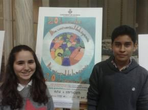 Roda de premsa a l'Ajuntament de València pels drets delsxiquets